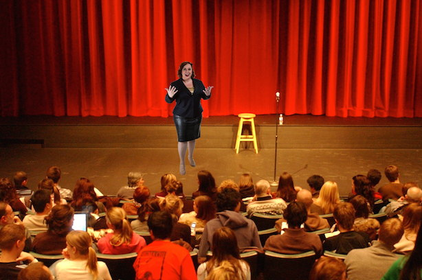 Ariana will effectively speak to your audience, whether large or small.